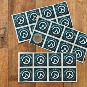 Ocean Nomads sticker - small eco