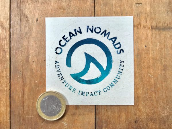 Ocean Nomads sticker - medium eco