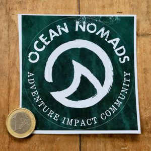 Ocean Nomads sticker - large