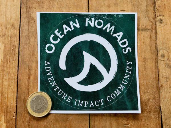 Ocean Nomads sticker - large