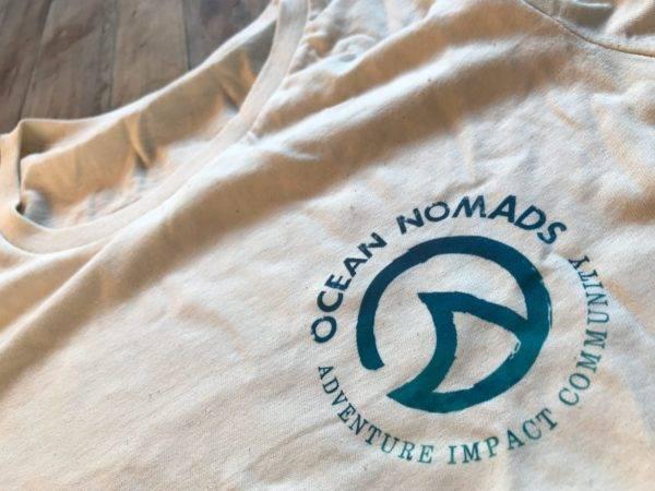 Ocean Nomads T-Shirts - Ladies - front logo